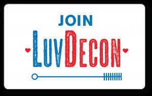 Join LuvDecon
