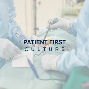 patient first culture