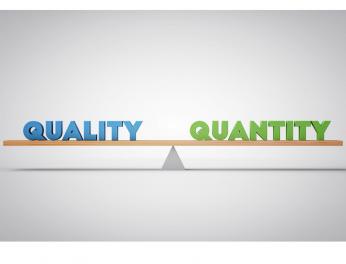 quality over quantity 2